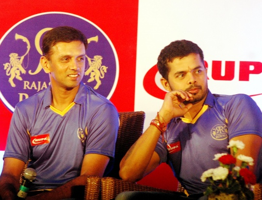 Did Dravid Sniff Sreesanth's Conspiracy?