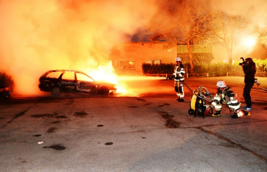Stockholm Hit by Worst Riots in Years