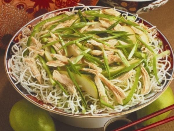 Healthy Salad Recipes: Oriental Pear Salad