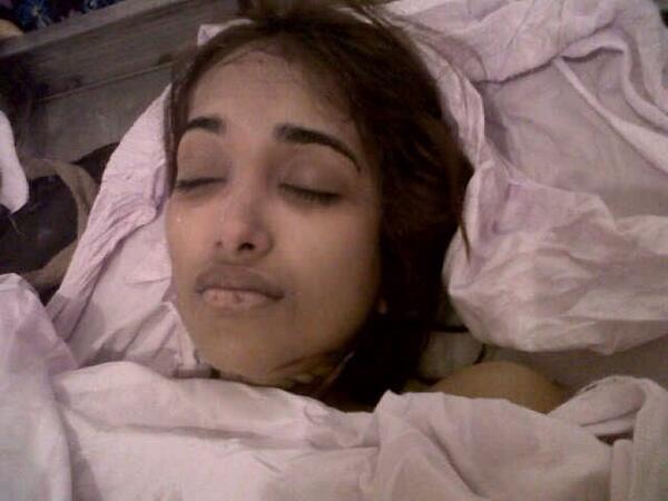 Disturbing Images Jiah Khan S Dead Body Indiatimes Com