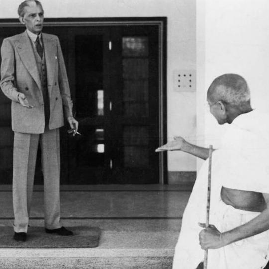 Mahatma Gandhi and Jinnah