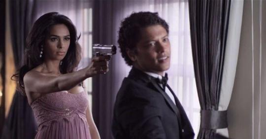 Mallika Sherawat and Bruno Mars in Whatta Man