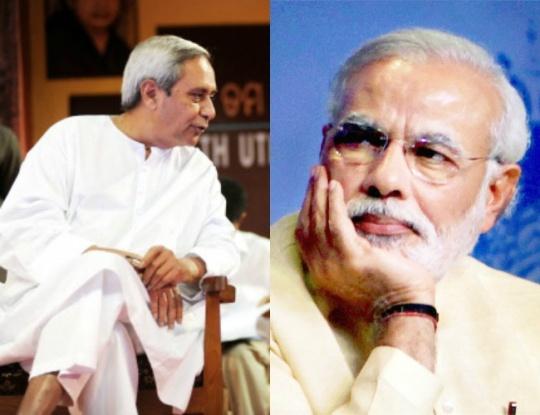Naveen Patnaik and Narendra Modi