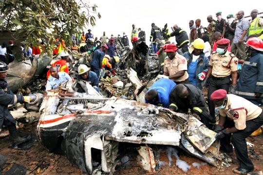 Plane Crash in Nigeria Kills 16