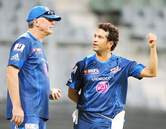 Sachin Enjoying His Cricket: John Wright