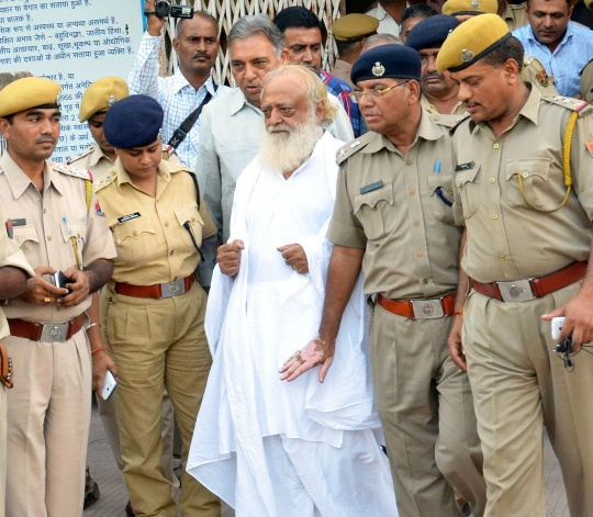 Asaram Bapu Sent to 14-day Judicial Custody