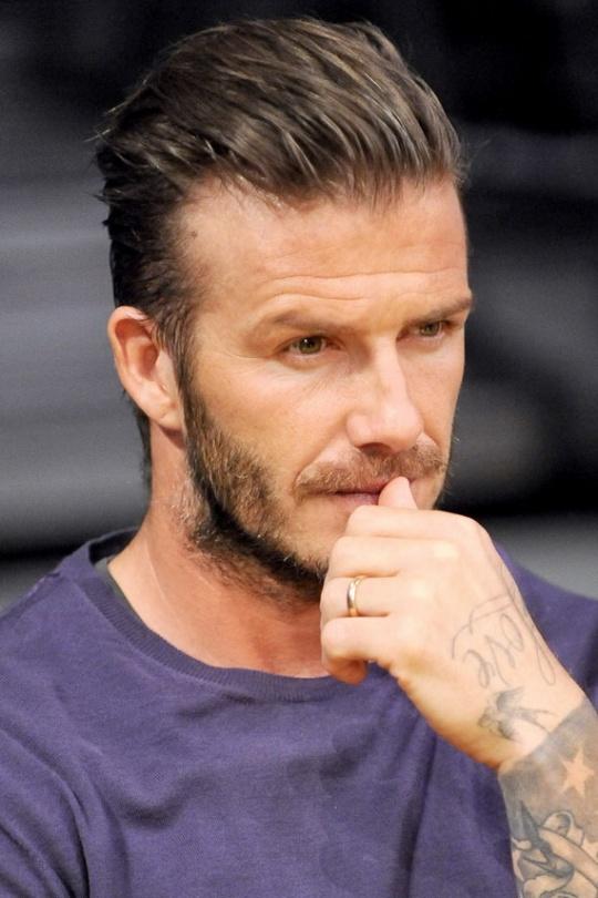Former England star David Beckham