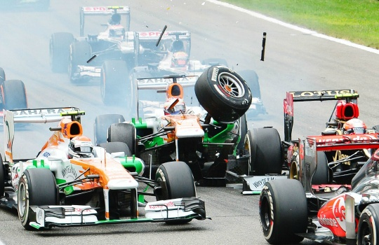 Force India Return Without Points