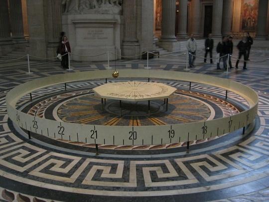 Leon Foucault Pendulum