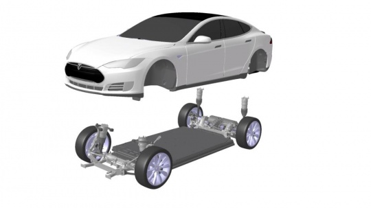 Tesla Enters Race to Build Autonomous Car