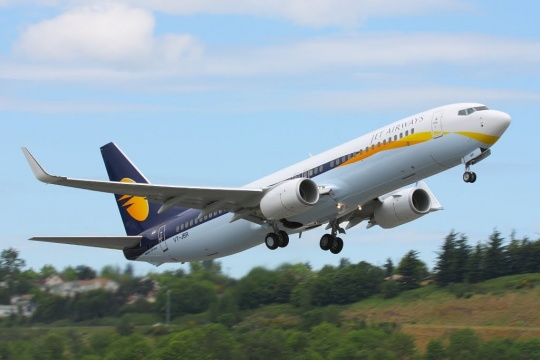 Air Travel In India Jet Airways