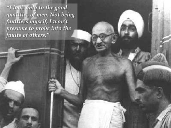 a look at the leadership and human rights struggles of mahatma gandhi Gandhi and the passive resistance campaign 1907-1914 broadened his outlook into a more universal struggle for human rights gandhi's leadership was not.