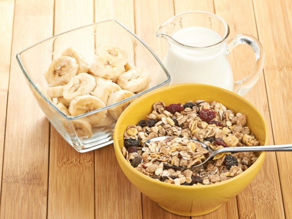 how to cook muesli with milk