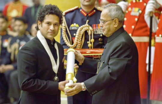 Image result for sachin tendulkar arjun award