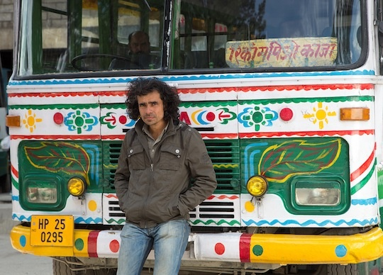 Imtiaz Ali on the sets of Highway