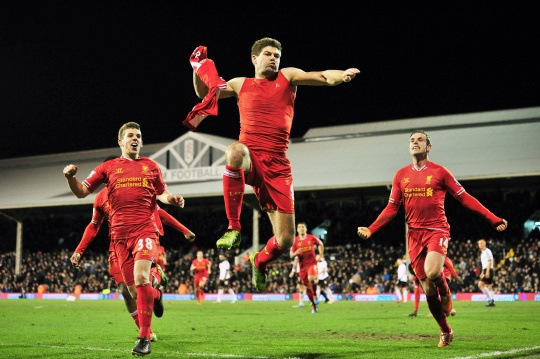 Liverpool Beat Fulham 3-2 in EPL