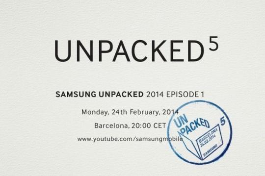 Samsung Galaxy S5 Event Invite