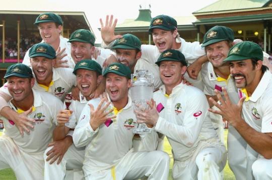 Australia Ashes Win