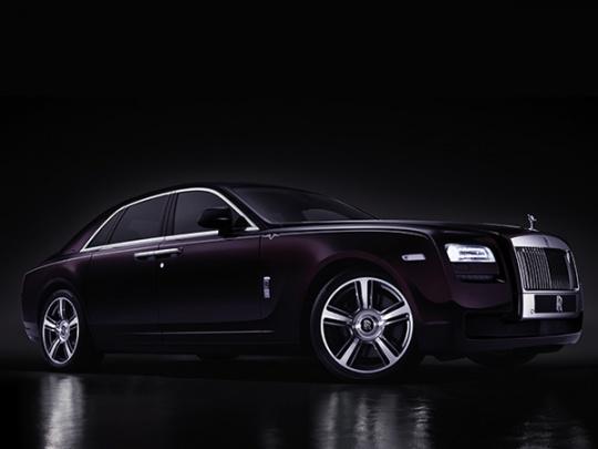 Rolls-Royce Limited Edition Ghost V
