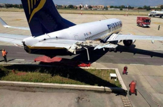 Two Ryanair Jets Collide At London Airport