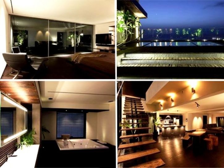 7 top bollywood celebrity homes in india for Beautiful houses in india with interior