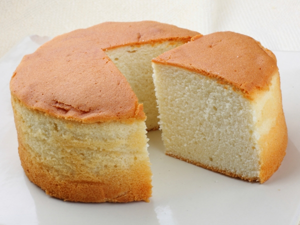 Sponge Cake Made Without