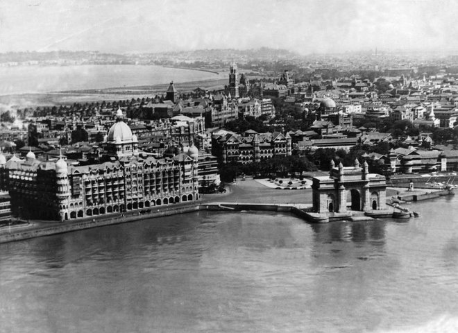 Aerial View Bombay