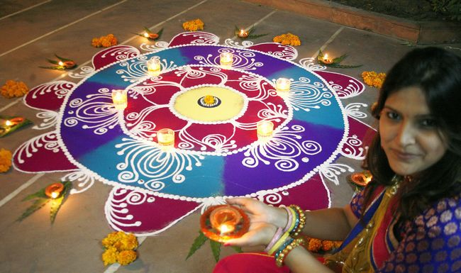 13 unique rangoli designs that will make your home look
