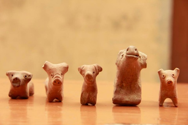 древние игрушки из Ракхигархи