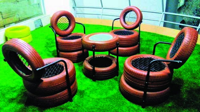 14 things that prove indians are the masters of upcycling Things to make out of old tires