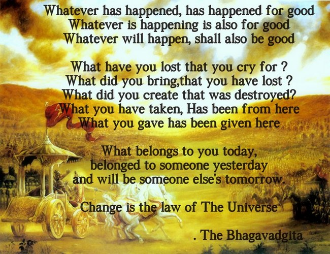 Souvent 11 Simple Lessons From The Bhagavad Gita That Are All You Need To  JX02