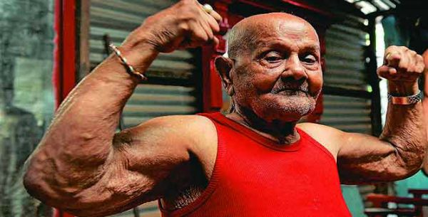 This 103-Year-Old Bodybuilder Was India's First Mr