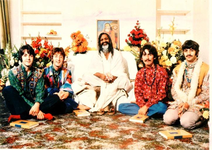 The Beatles at Rishikesh