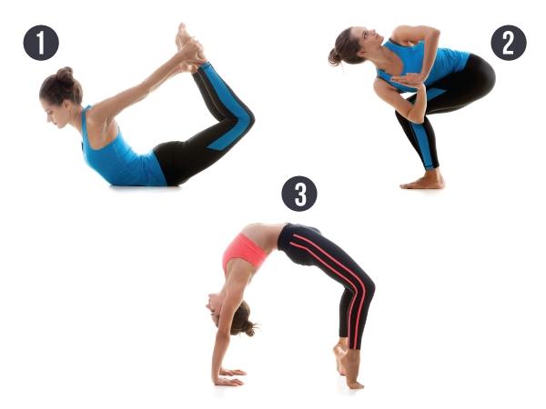 3 Yoga Poses To Eliminate Back Fat