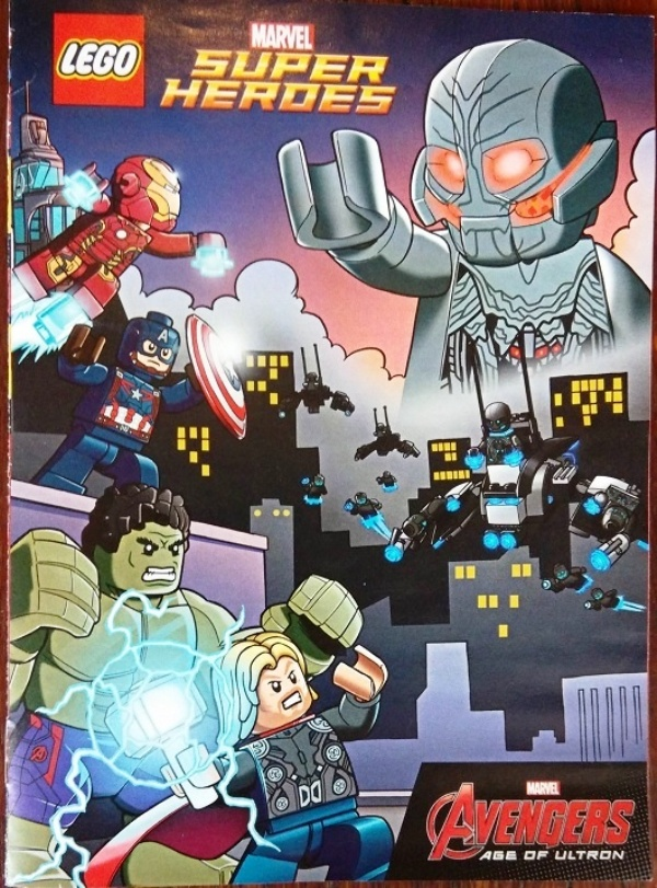 Potential Spoiler Alert: The Age Of Ultron Lego Comic Shows The ...