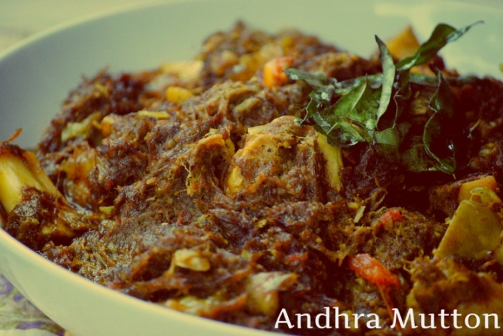 Andhra Dry Mutton