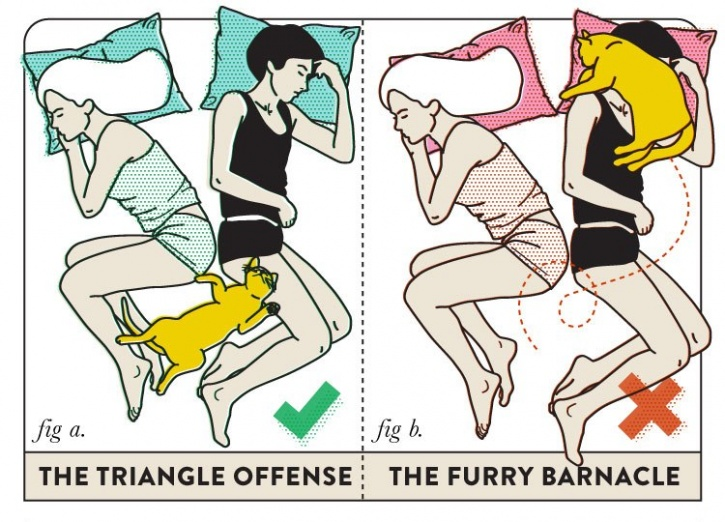 This guide to the best sleeping practices for couples is just what the doc ordered - Position de la cuillere ...