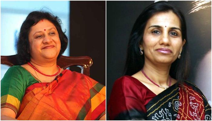 chandra kocchar, Arundhati Bhattacharya