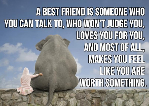 You Lose Contact With Your Go To Person. Best Friend Quote 1