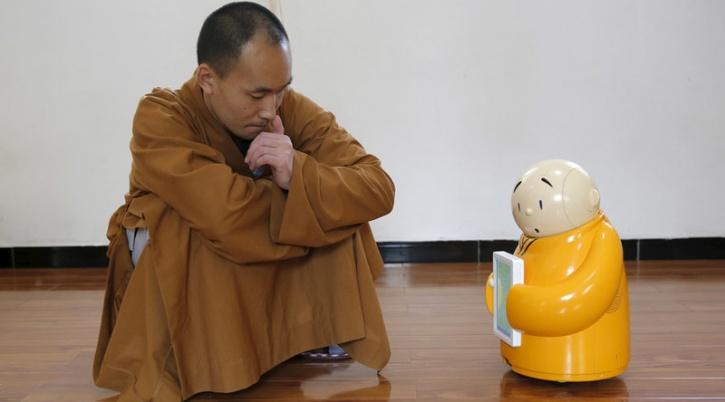 buddhism robot