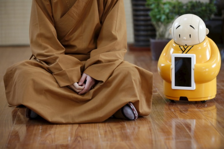 buddhist robot
