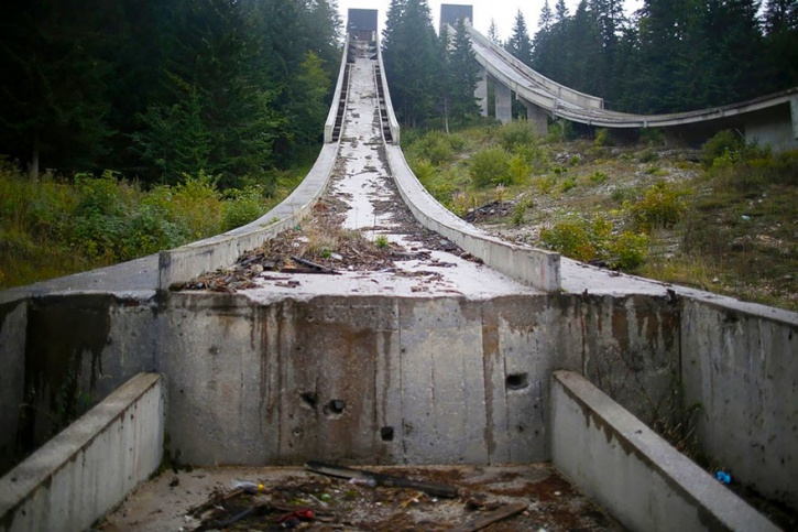 Abandoned Olympic Venues In The World That Are The Biggest - Eerie abandoned olympic venues around the world
