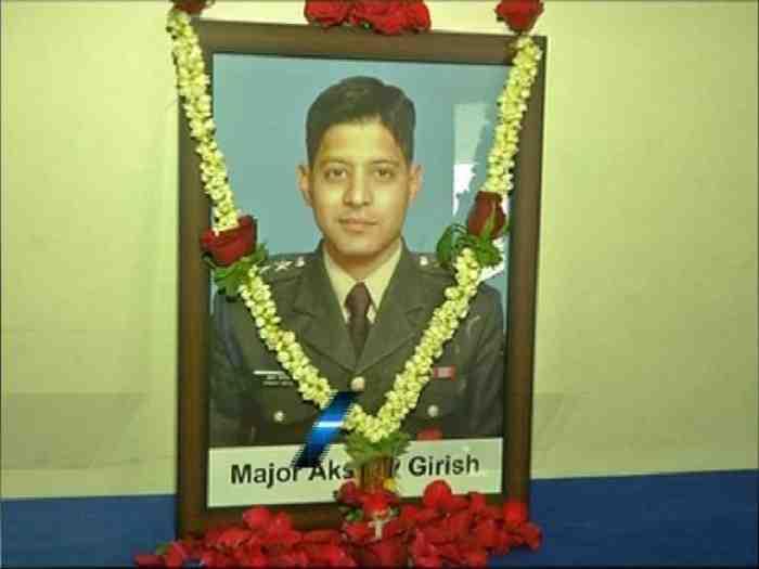 Major Akshay Girish Kumar