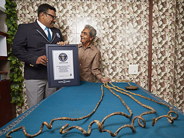 Pune Finds A Novel Way To Honour Guinness Record Holder For Longest ...