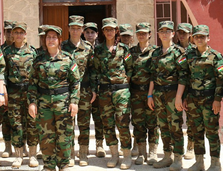 Force Of The Sun Ladies - The Army Of Former Yazidi Sex Slaves To Fight Isis -1210