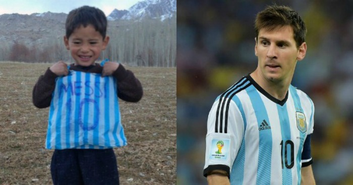 Lionel messi to meet his biggest fan yet the 5 year old afghan boy messi m4hsunfo Choice Image