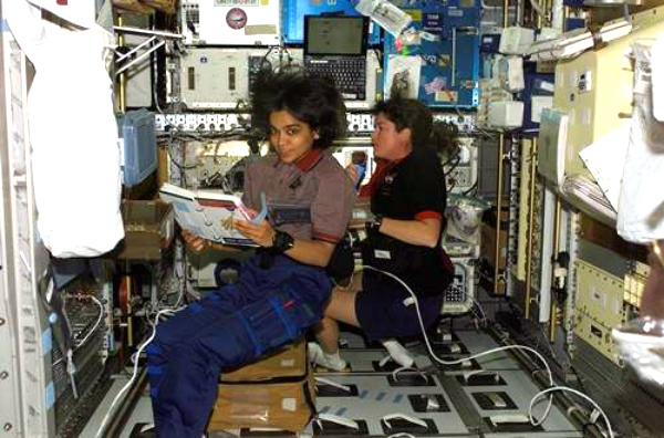 chawla in space