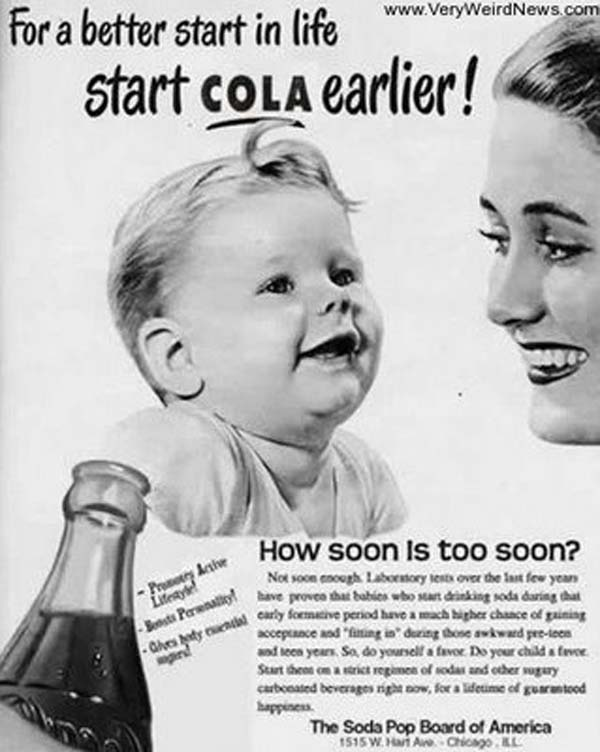 These 11 Vintage Ads Using Babies To Sell Harmful Items