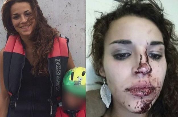 Black man beating and fucking white girl