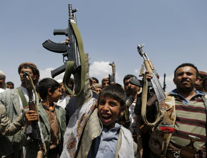 Yemen guns